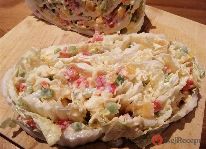 Recept Fantastická chuťovka namísto chlebíčků - plněné čínské zelí