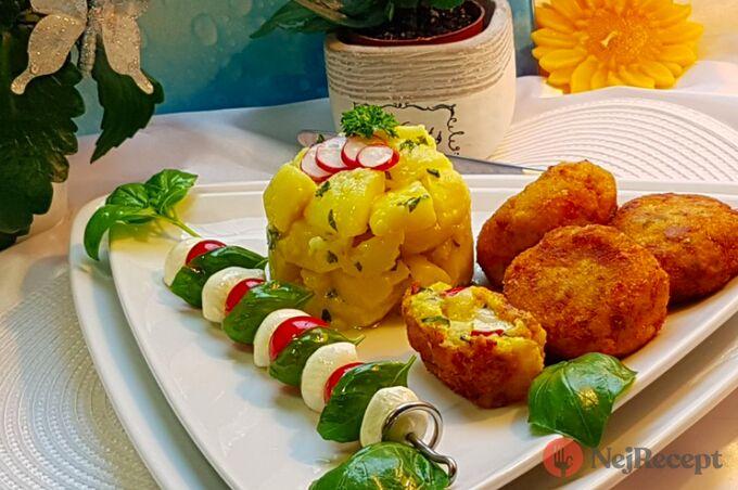 Recept Květákovo-kedlubnové kouličky s mozarellou