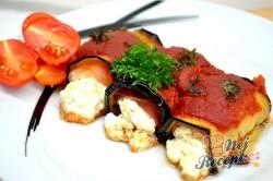 Příprava receptu Zapečený lilek s ricottou a rajčatovým pyré, krok 8