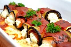 Příprava receptu Zapečený lilek s ricottou a rajčatovým pyré, krok 7