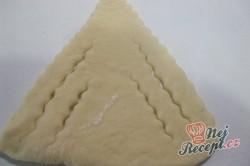 Příprava receptu Jablečné šátečky z kynutého těsta, krok 6