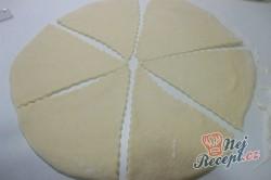 Příprava receptu Jablečné šátečky z kynutého těsta, krok 4