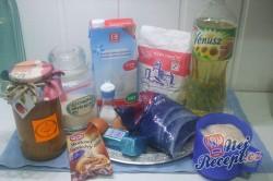 Příprava receptu Jablečné šátečky z kynutého těsta, krok 1