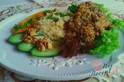 Příprava receptu Vepřové medailonky v ořechové krustě s kuskusem, krok 6