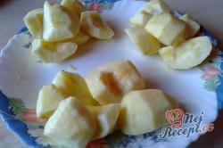 Příprava receptu Jablečný koláček s domácími povidly, krok 1