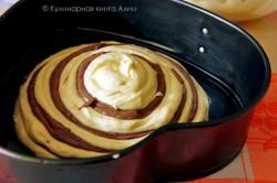 Příprava receptu Famózní ZEBRA dort, krok 12