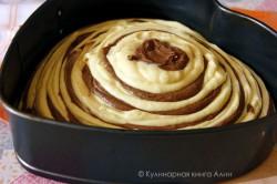 Příprava receptu Famózní ZEBRA dort, krok 13