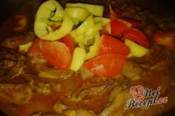 Příprava receptu Krůtí srdíčka s hlívou na smetaně s bramborovými knedlíčky, krok 6