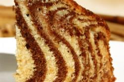 Příprava receptu Famózní ZEBRA dort, krok 17