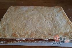Příprava receptu Juhoslovanský krémeš na velký plech, krok 12