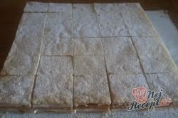 Příprava receptu Juhoslovanský krémeš na velký plech, krok 13