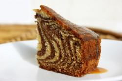 Příprava receptu Famózní ZEBRA dort, krok 16