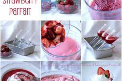 Příprava receptu Skvěle vypadající pohár plný jahod z 3 ingrediencí, krok 1