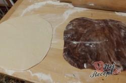 Příprava receptu Dvoubarevné výborné croissanty, krok 3