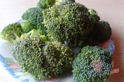 Plněné brokolicové růže (fotorecept), krok 1