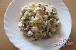 Příprava receptu Těstovinový salát ze základní školy, krok 1