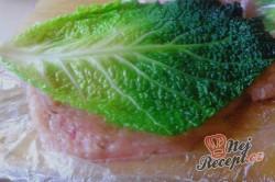 Příprava receptu Krůtí roláda s kapustovým listem (fotopostup), krok 5