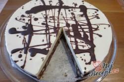 Příprava receptu Slavnostní smetanový dort bez pečení, krok 2