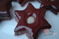 Příprava receptu Čokoládové vánoční hvězdy, krok 1