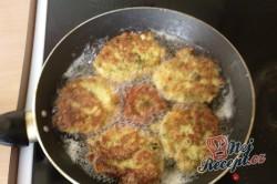 Příprava receptu Květákovo brokolicové placičky, krok 1