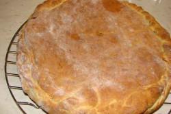 Příprava receptu Výborná plněná pizzová placka s lilkem, krok 5
