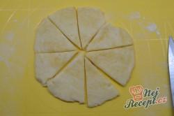 Příprava receptu Křupavé vanilkové rohlíčky, krok 4