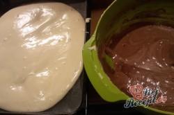 Příprava receptu CIK-CAK pudinkáček se smetanovou vrstvou, krok 5