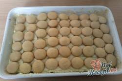 Příprava receptu Řezy s piškotama, krok 4