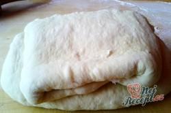 Příprava receptu Kynuté sádlové šátečky s vanilkou a ořechy - FOTOPOSTUP, krok 8