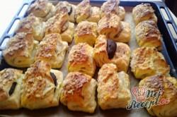 Příprava receptu Kynuté sádlové šátečky s vanilkou a ořechy - FOTOPOSTUP, krok 16