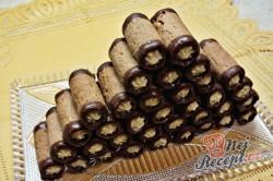 Příprava receptu Babiččiny trubičky s karamelovým krémem, krok 1