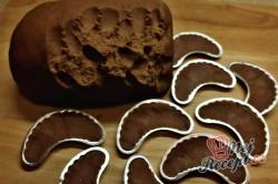 Příprava receptu Čokoládové vánoční rohlíčky, krok 2