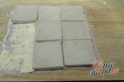 Příprava receptu Toastová roláda se šunkou, krok 6