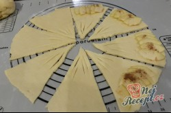 Příprava receptu Jablečné taštičky z tvarohového těsta, krok 1