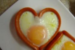 Příprava receptu Valentýnská snídaně, krok 4