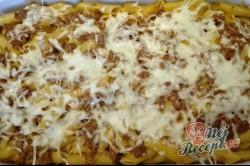 Příprava receptu Penne s mletým masem a rajčatovou omáčkou, krok 4