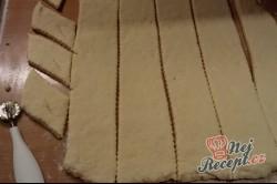 Příprava receptu Tvarohové křehké fánky, krok 5