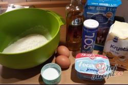 Příprava receptu Tvarohové křehké fánky, krok 1