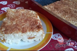 Příprava receptu Rýžový nákyp s meruňkami a tvarohem, krok 12
