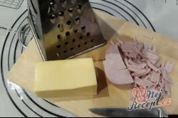 Příprava receptu Párty srdíčka so sýrem a šunkou, krok 2