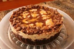 Příprava receptu Cheesecake z MARS tyčinek, krok 1