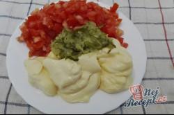 Příprava receptu Velikonoční salát s dietním salámem, krok 2