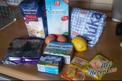 Příprava receptu Řezy s pořádnou dávkou máku, krok 1