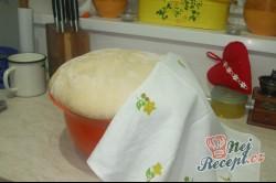 Příprava receptu Babiččiny koblihy s bílkovou pěnou, krok 1