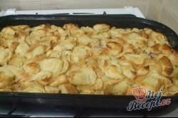 Příprava receptu Tvarohová žemlovka s jablíčky, krok 6