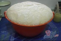 Příprava receptu Langoše se šunkou a sýrem, krok 1