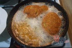 Příprava receptu Obrácené řízky s bramborovou kaší, krok 5