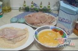 Příprava receptu Obrácené řízky s bramborovou kaší, krok 3