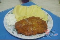 Příprava receptu Obrácené řízky s bramborovou kaší, krok 7