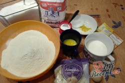 Příprava receptu Mazanec bez vajec, krok 1